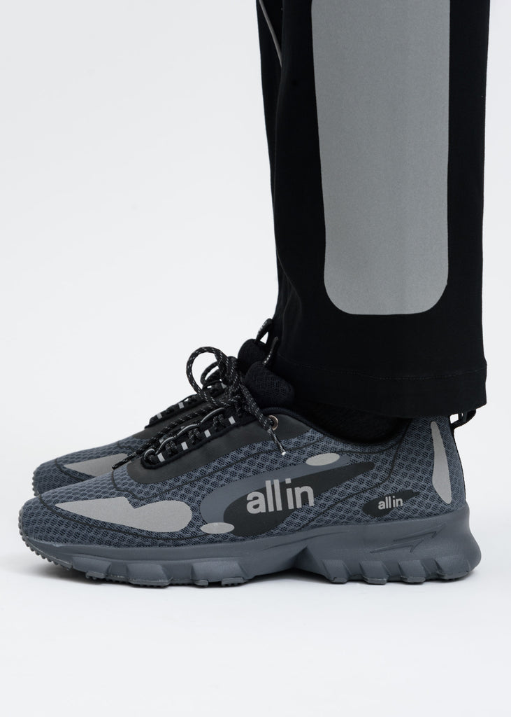 Grey and Reflective Astro Shoes