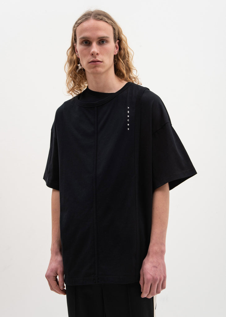 Ambush, Black Layered T-Shirt, 017 Shop