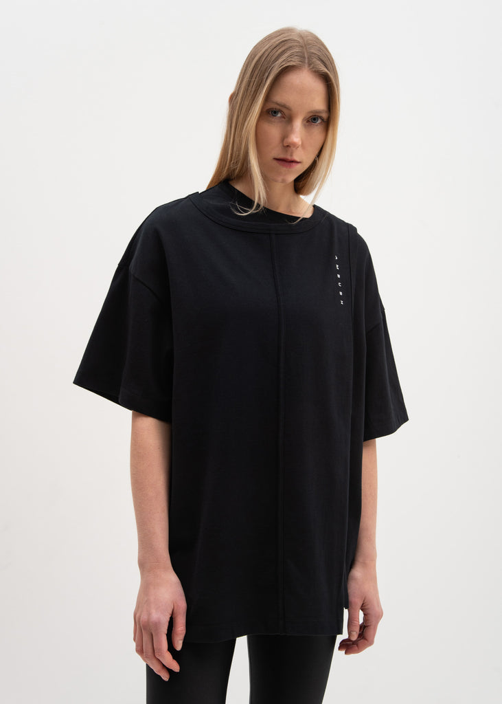 Black Layered T-Shirt