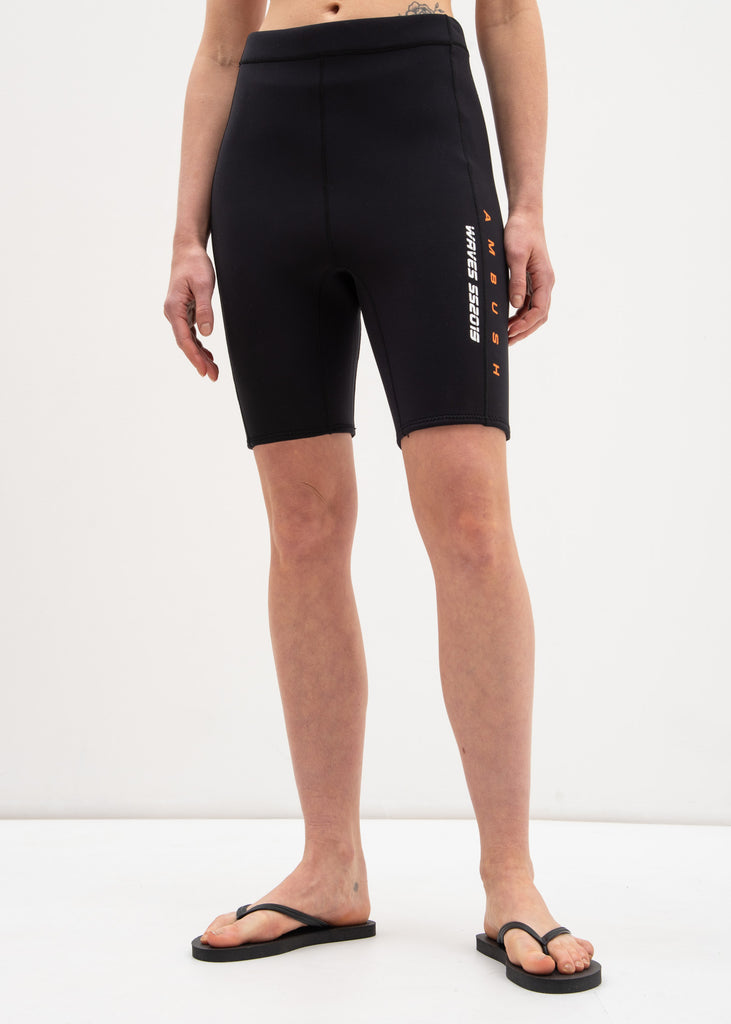 Black Wave Surf Shorts