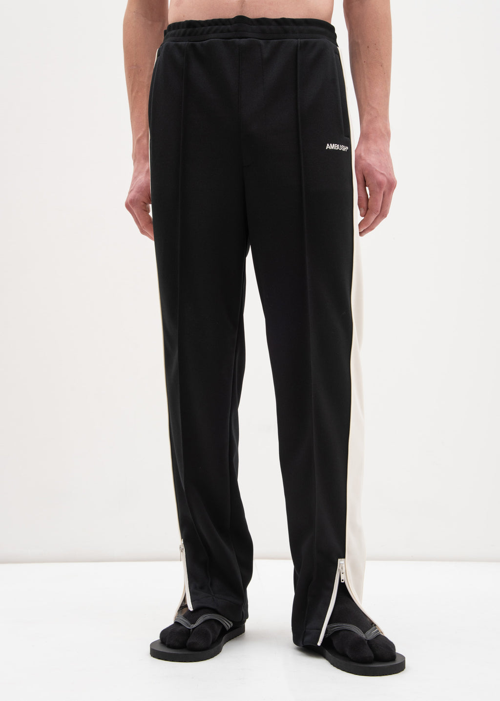 Black Waves Track Pants