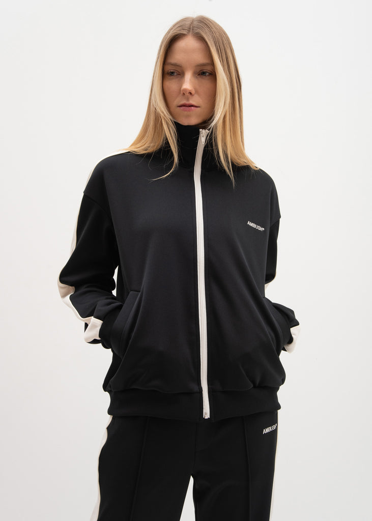 Black Waves Track Top