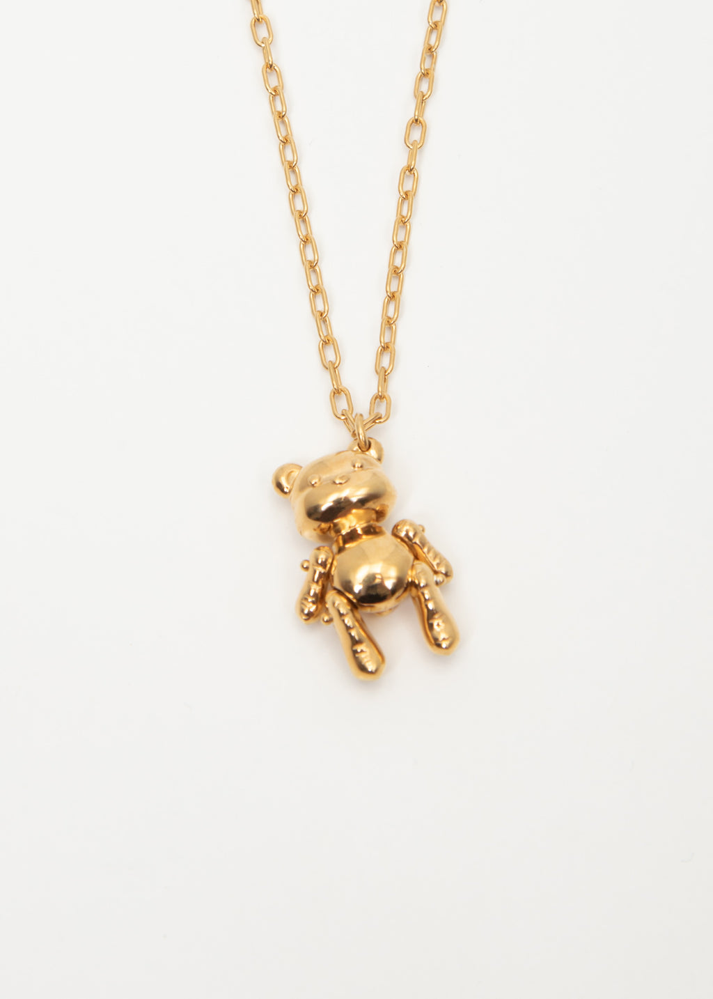 Ambush, Gold Inflatable Teddy Bear Necklace, 017 Shop