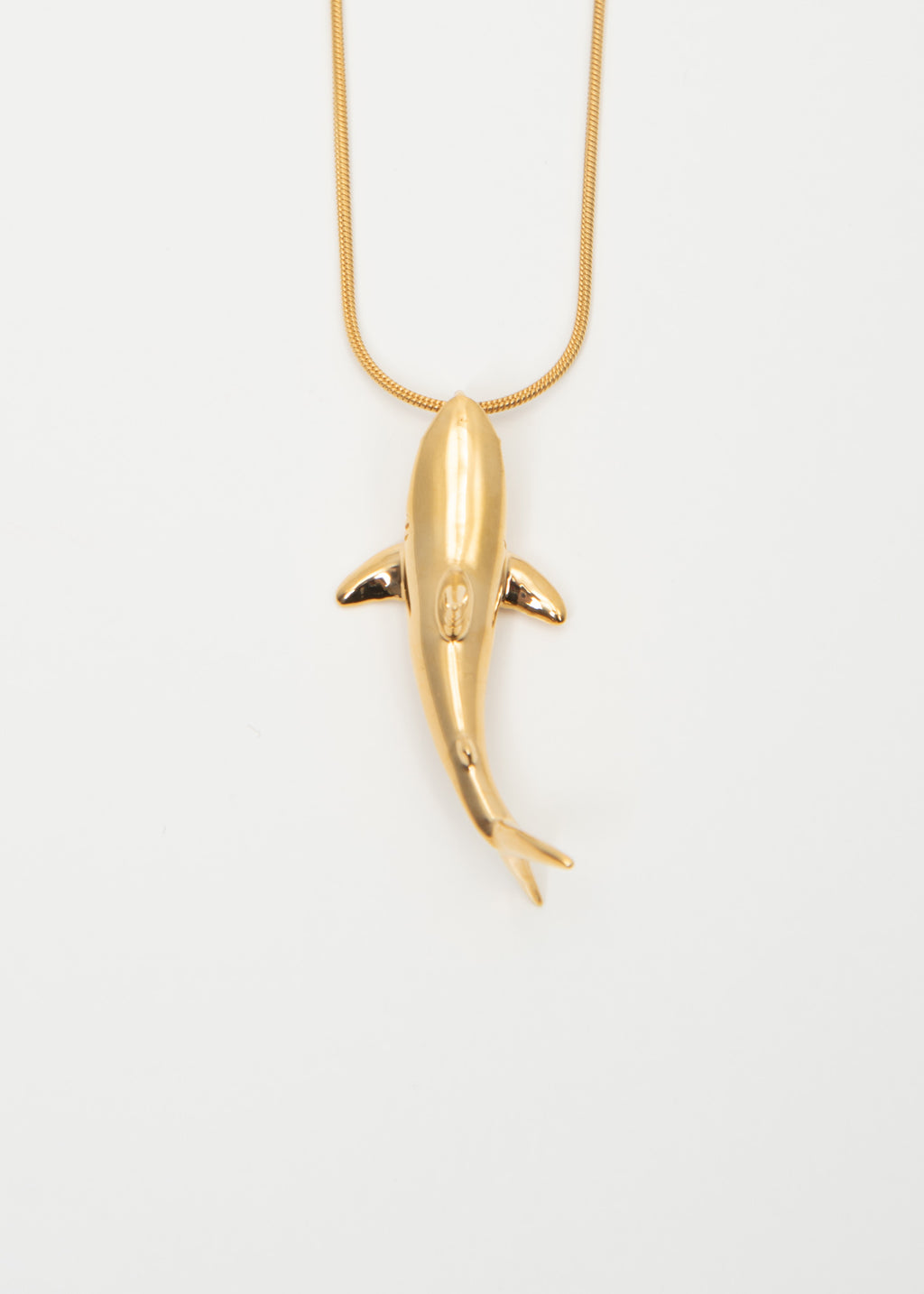 Gold Shark Necklaces