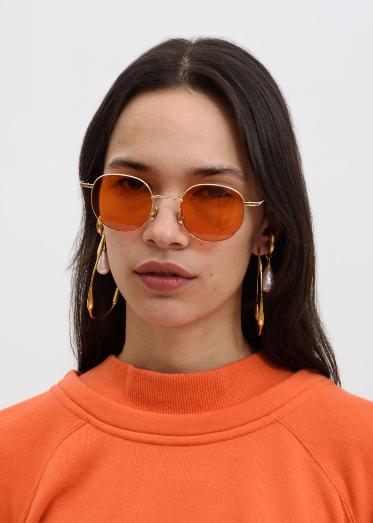 Orange Karlheinz Sunglasses
