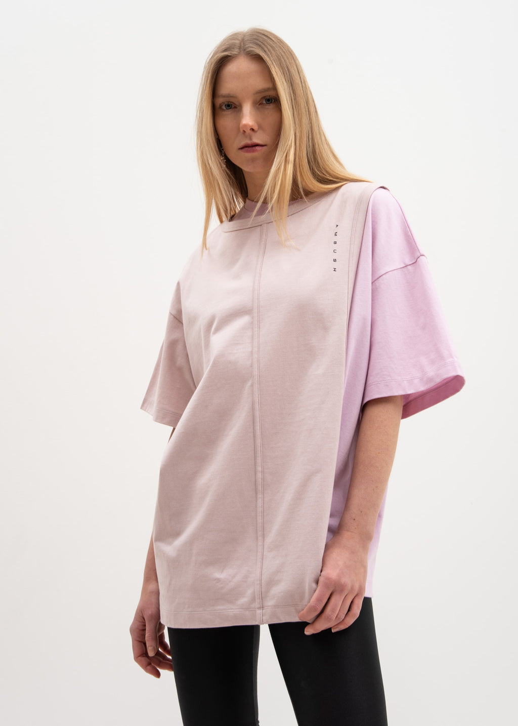 Ambush, Pink Layered T-Shirt, 017 Shop