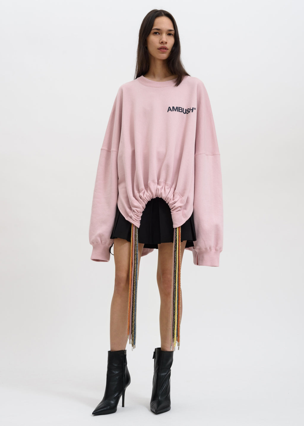 Pink Multi Cord Sweater