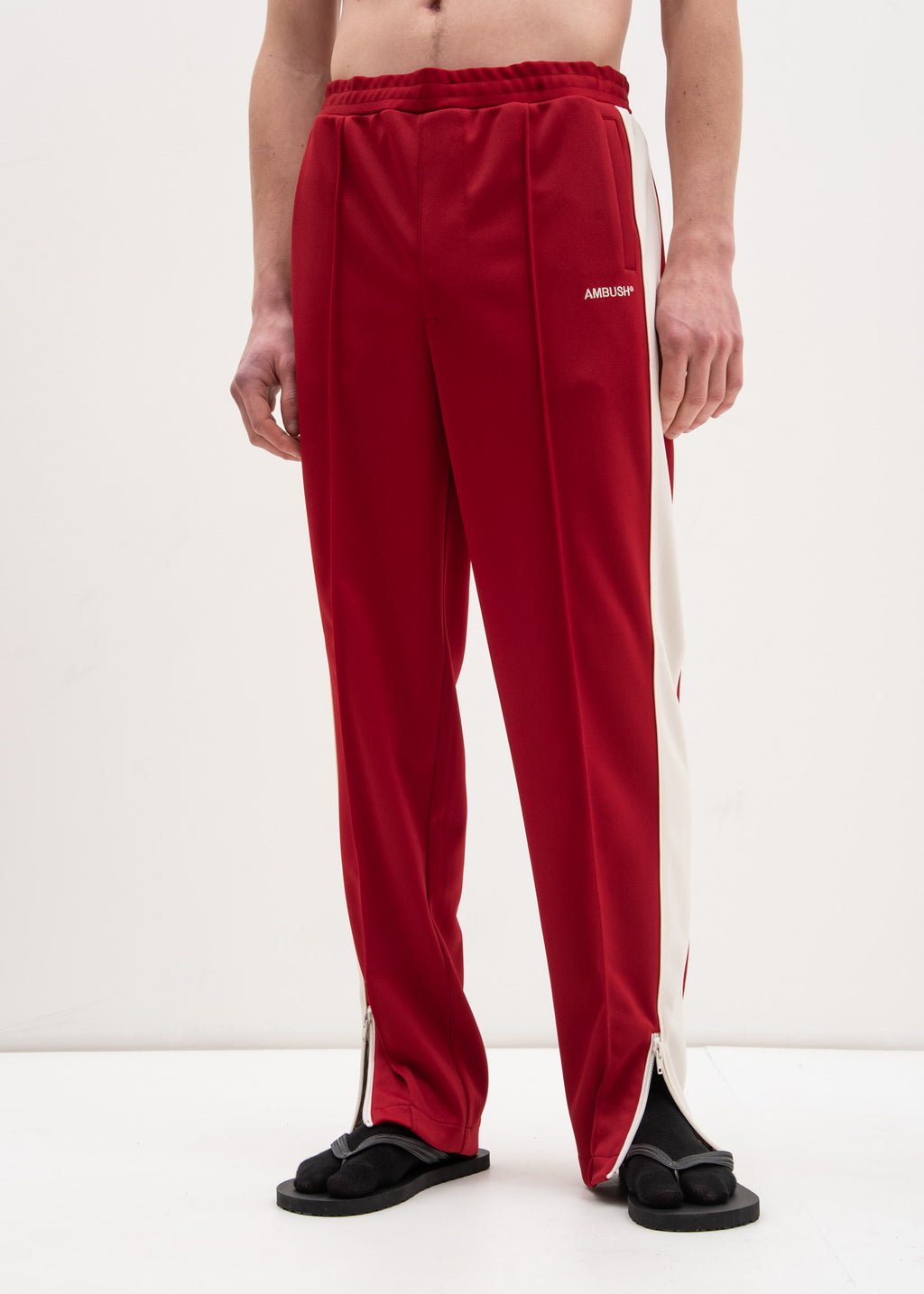 Ambush, Red Waves Track Pants, 017 Shop