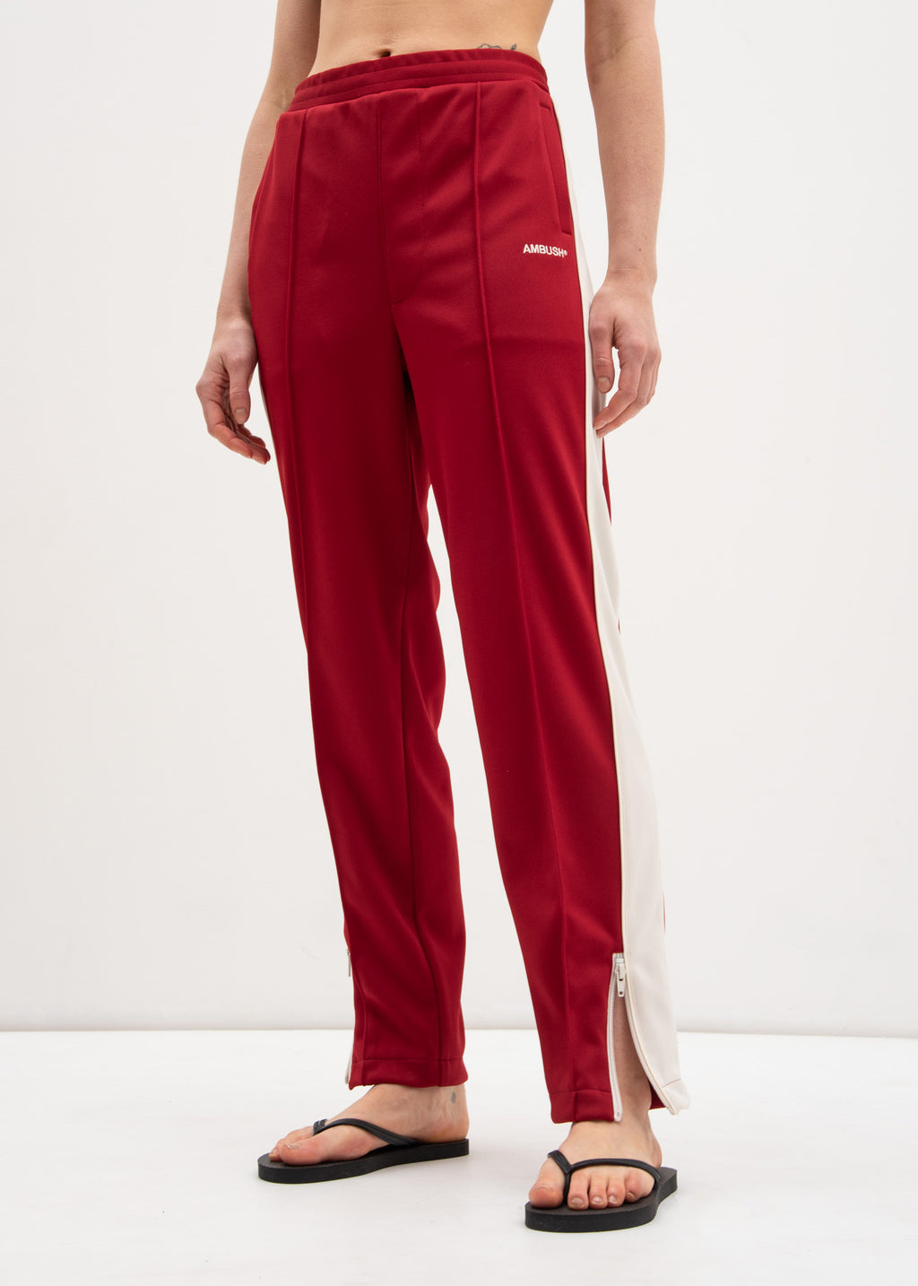 Red Waves Track Pants