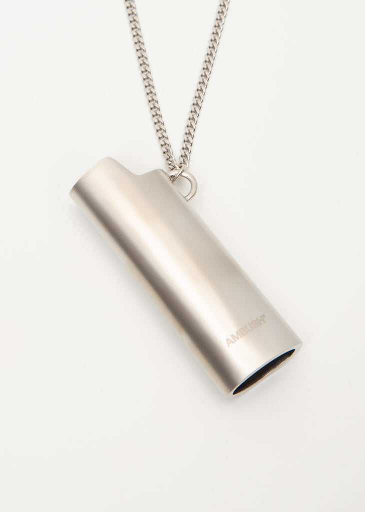 Silver Lighter Case Necklace