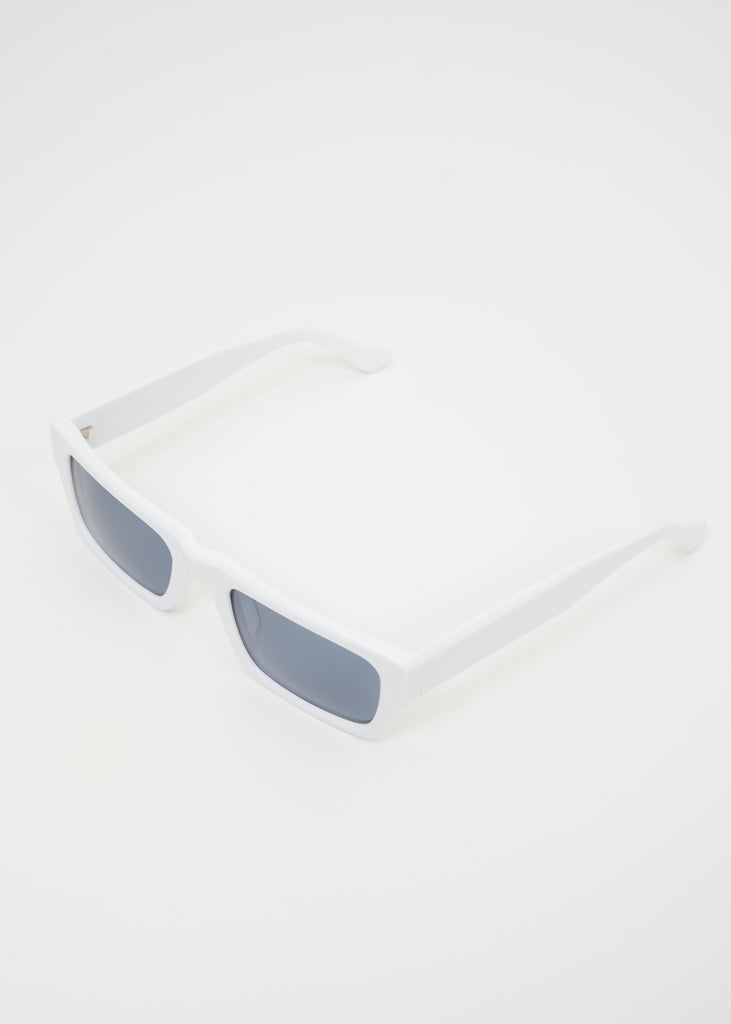 White Hughes Sunglasses