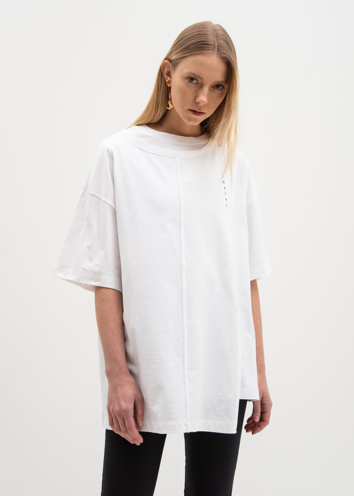 Ambush, White Layered T-Shirt, 017 Shop