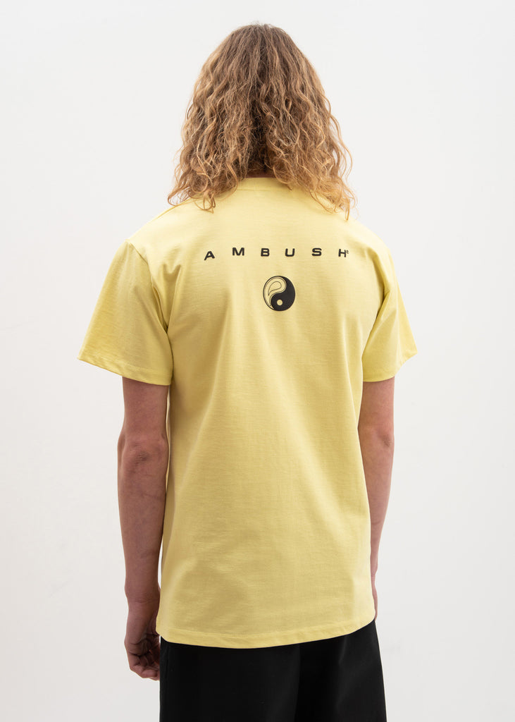 Ambush, Yellow All Equal Fitted T-Shirt, 017 Shop
