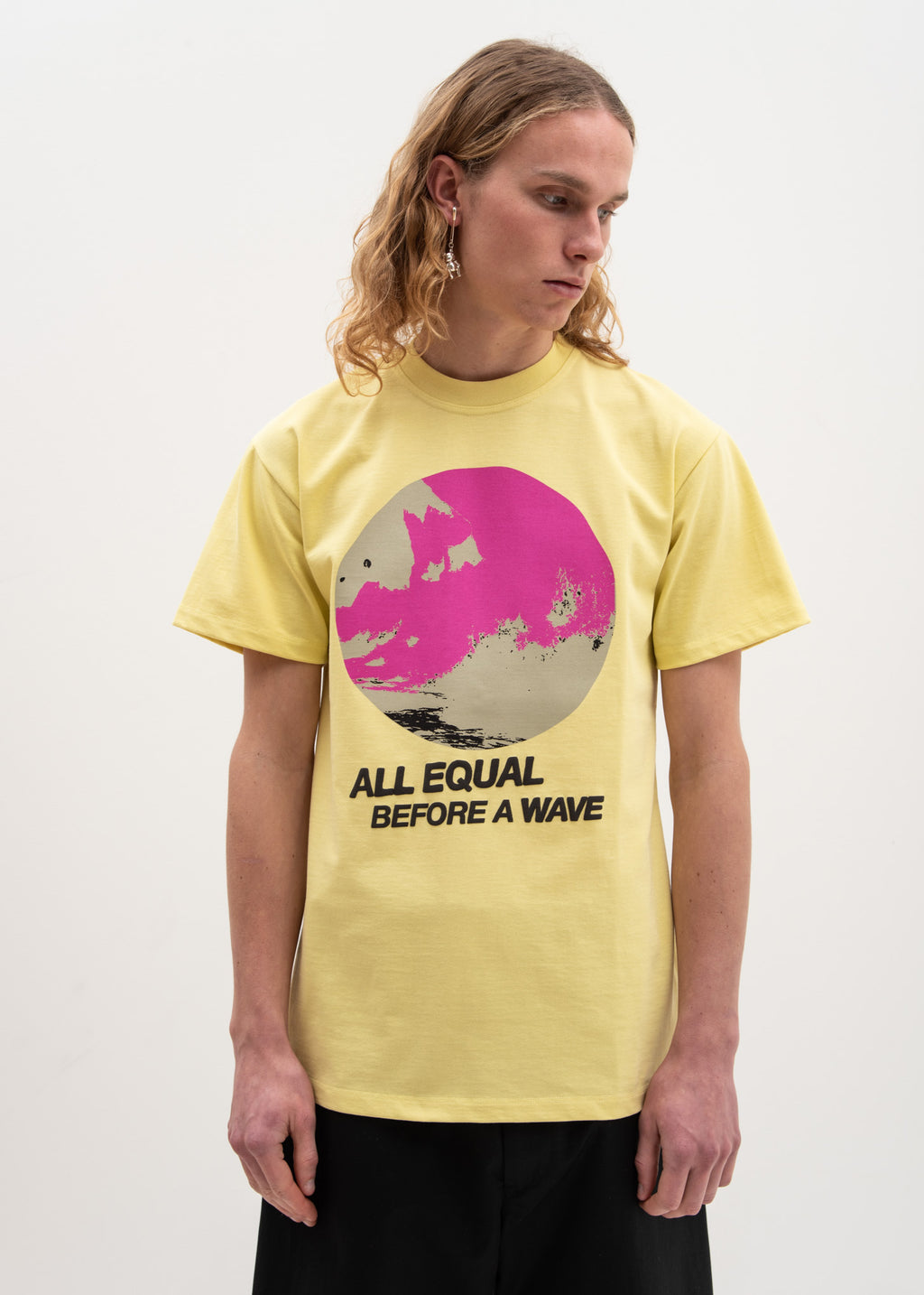 Yellow All Equal Fitted T-Shirt
