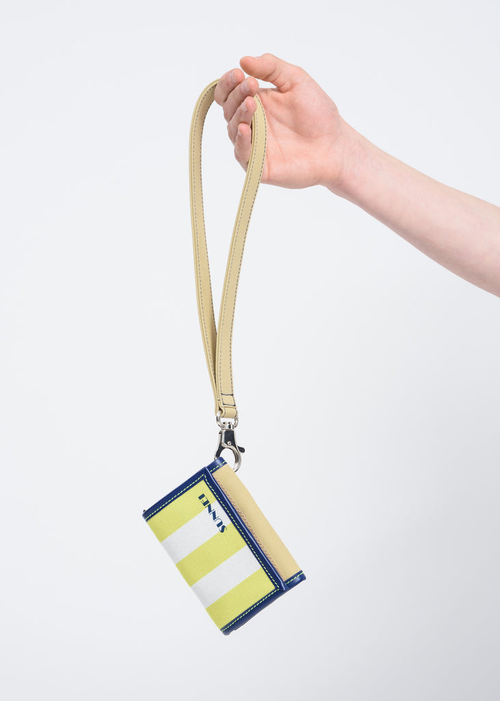 Apple Stripes Wallet