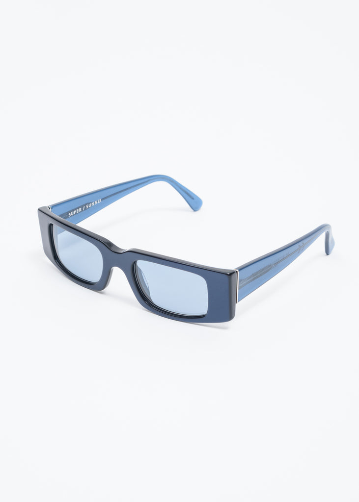 Blue Square Sunglasses