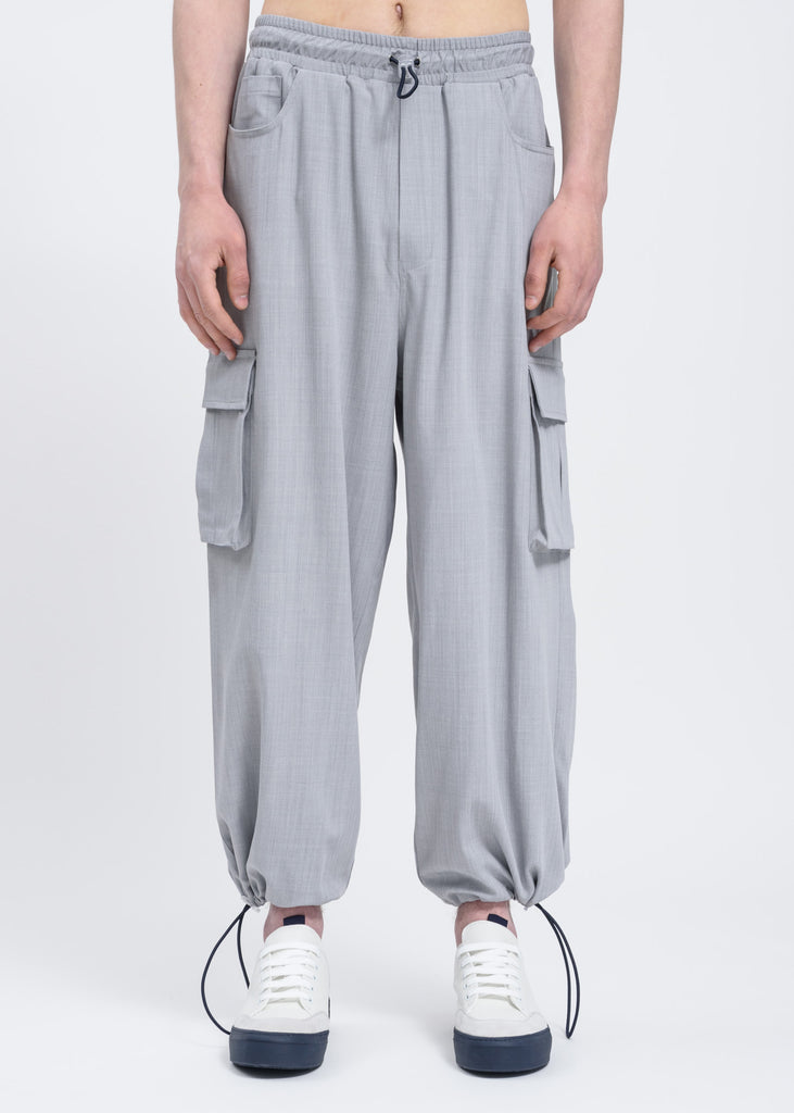 Bright Grey Cargo Pants