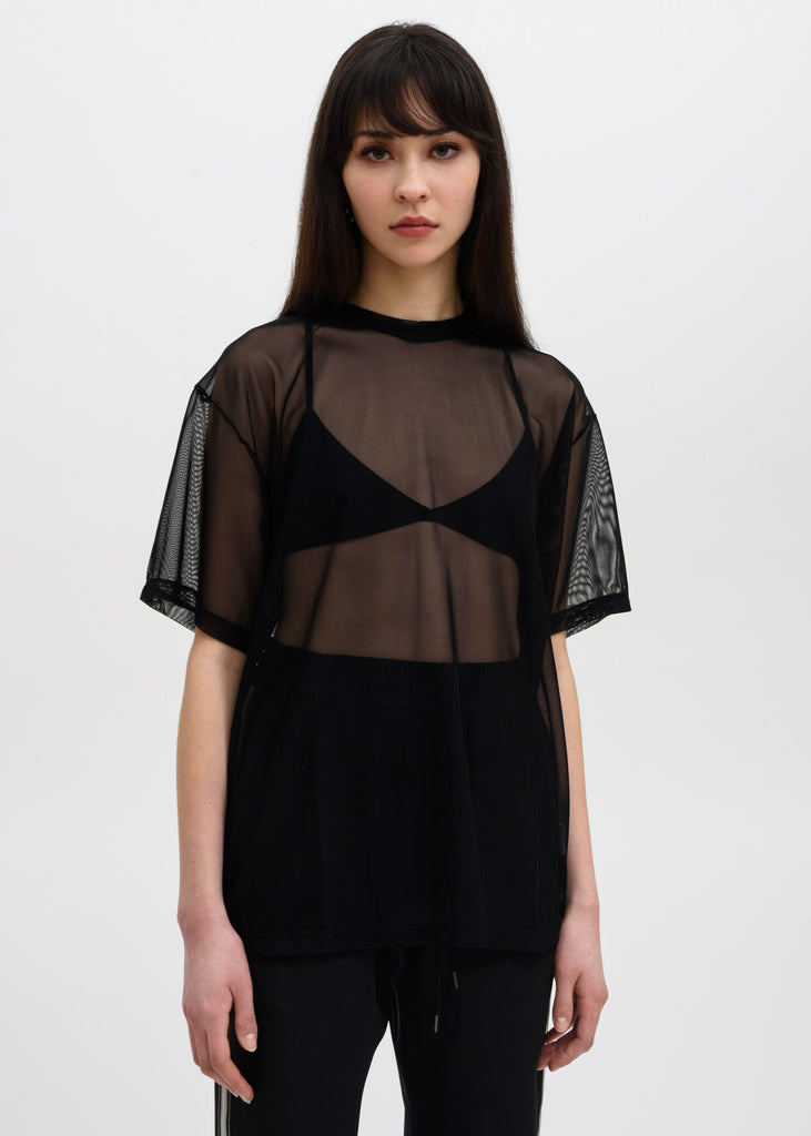 Black Arno Mesh T-Shirt