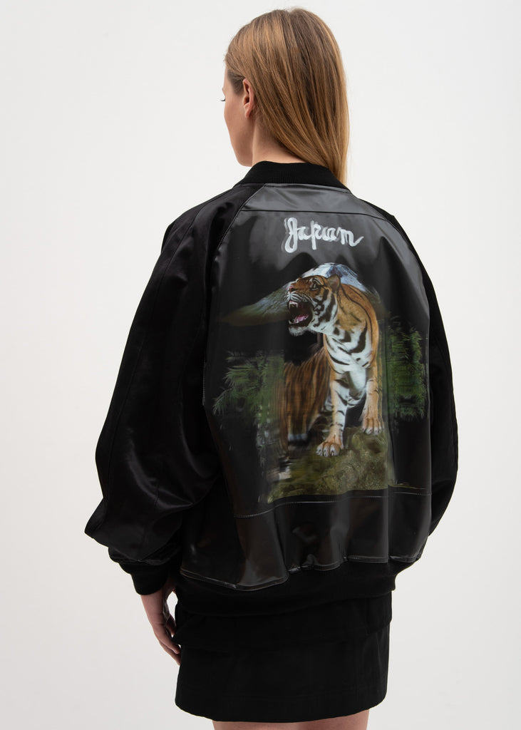 Tiger 3D Printed Souvenir Jacket