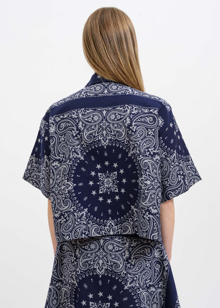 Blue Lake Bandana Shirt