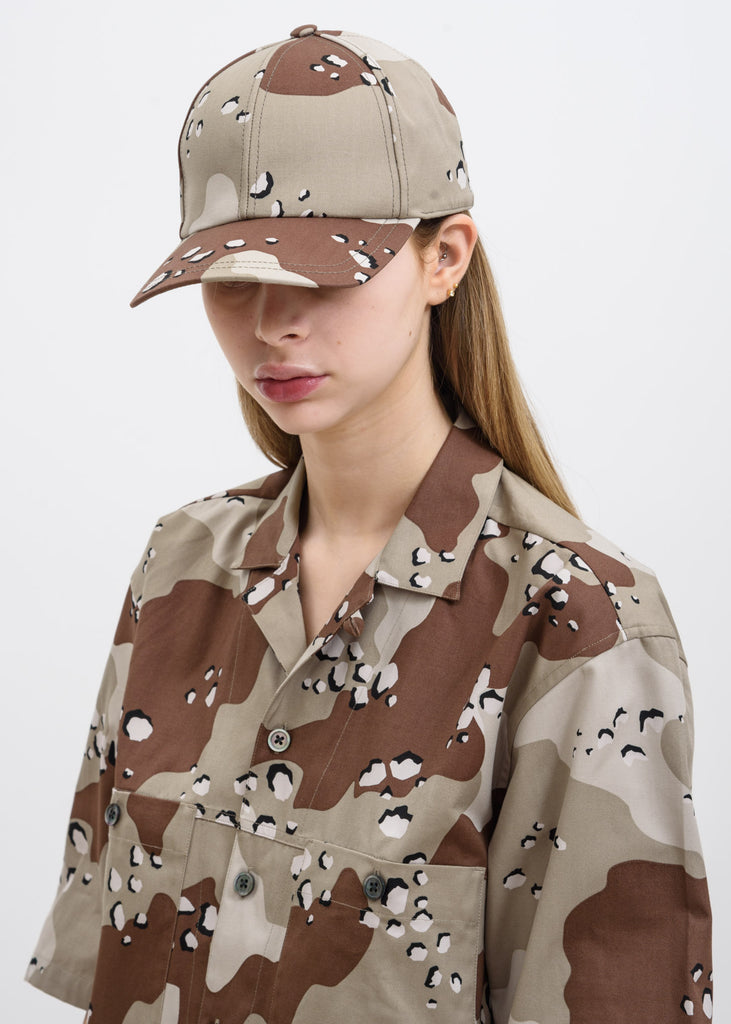 Camo Cloud Canvas Cap