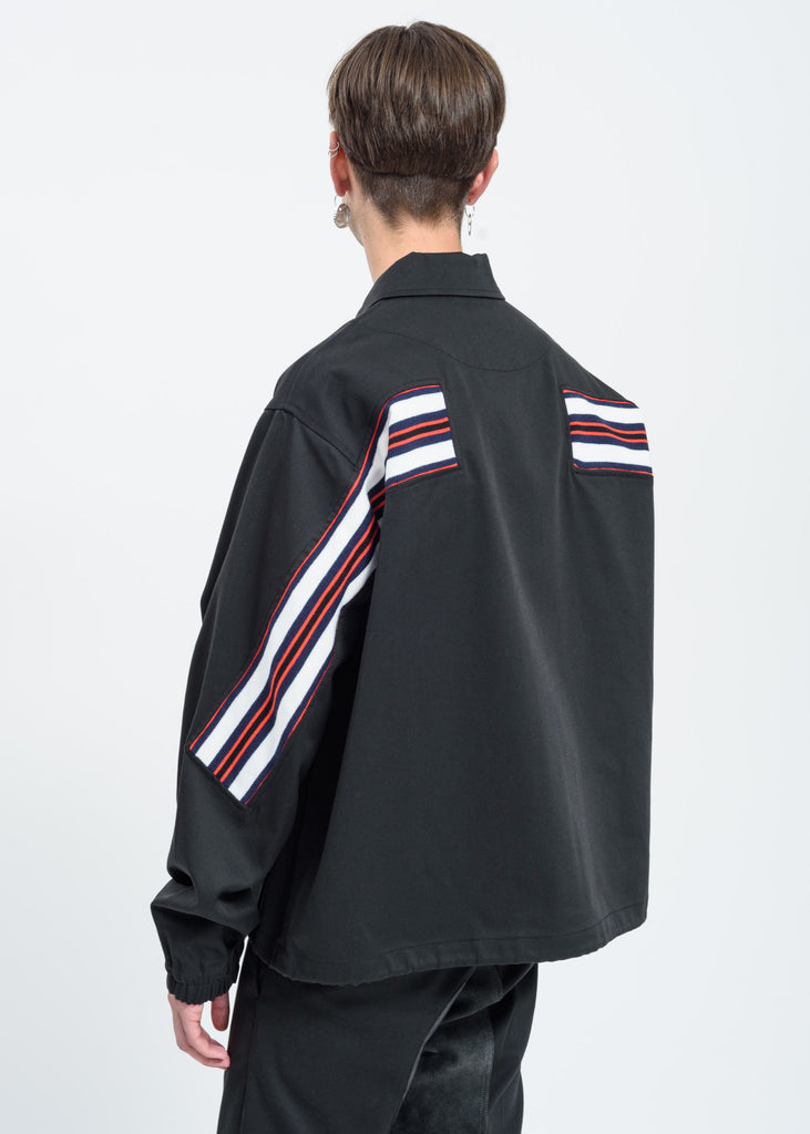Black Dickies Edition Logo Coach Jacket