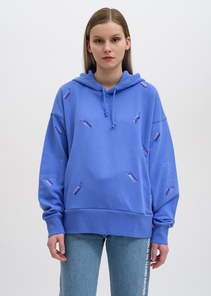 Blue FCW Levis Embroidered Hoodie