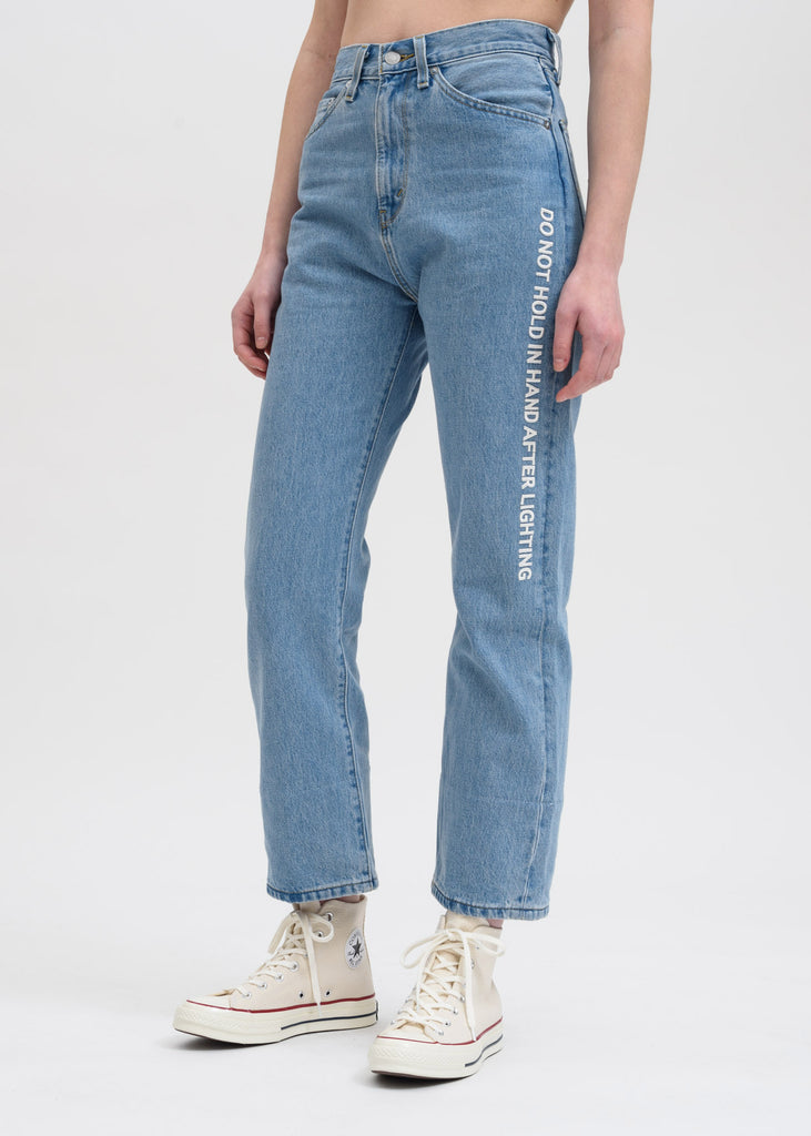 Light Indigo FCW Levis High Waist Jeans