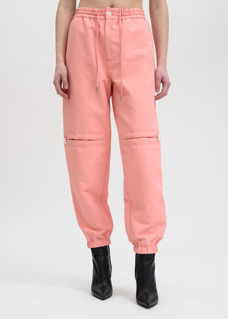 Pink Drawstring Trousers