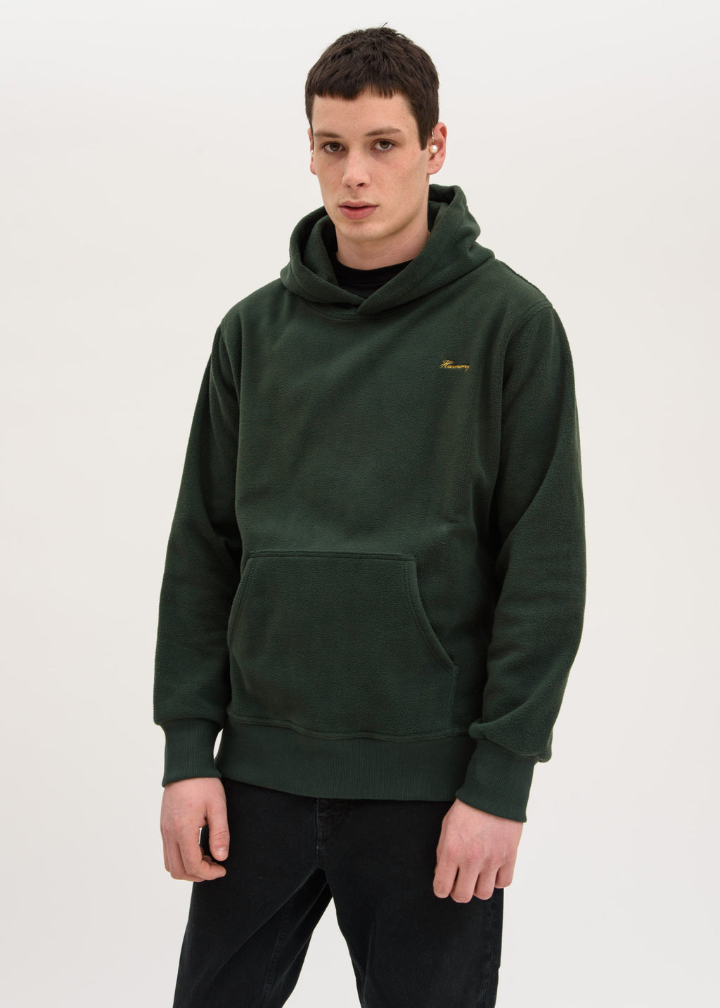 Dark Green Polar Fleece Serano Hoodie