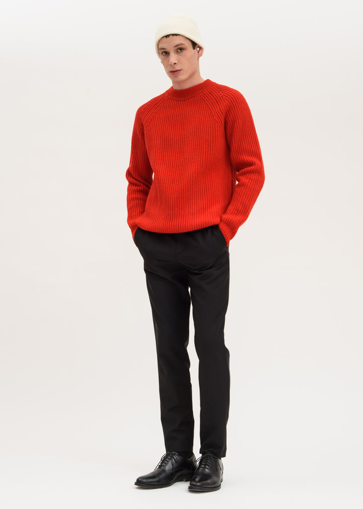 Harmony, Red Wally Knit Sweater, 017 Shop