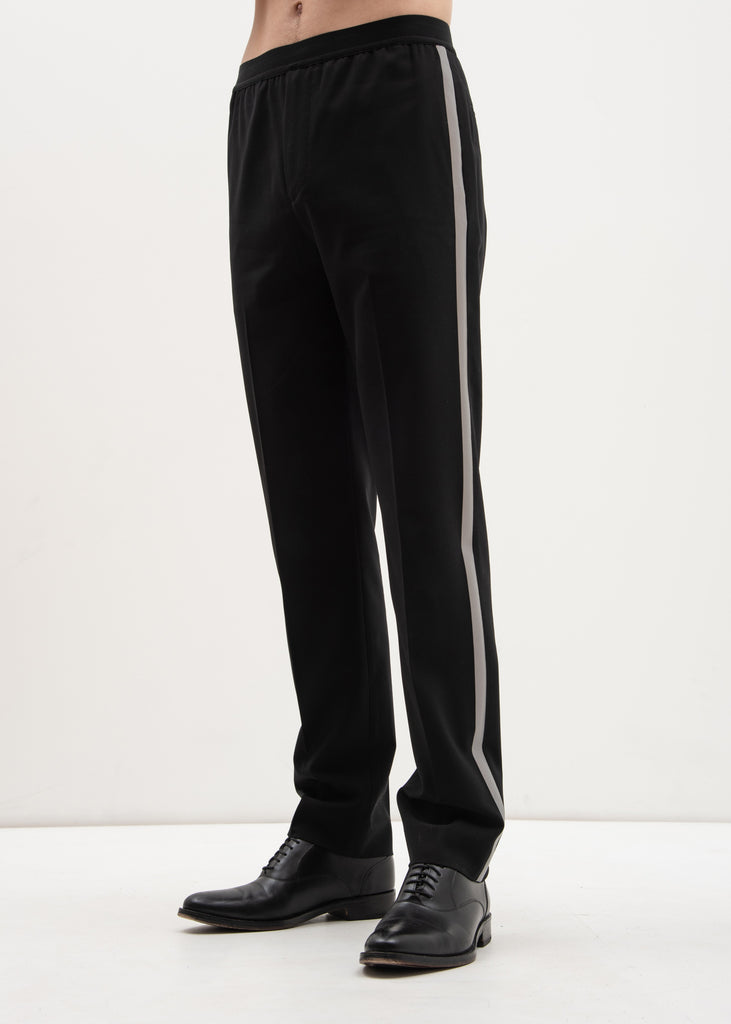 Helmut Lang, Black Silver Band Trouser, 017 Shop