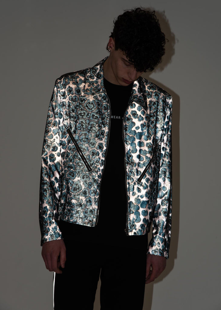 Helmut Lang, Reflective Leopard Zip Jacket, 017 Shop
