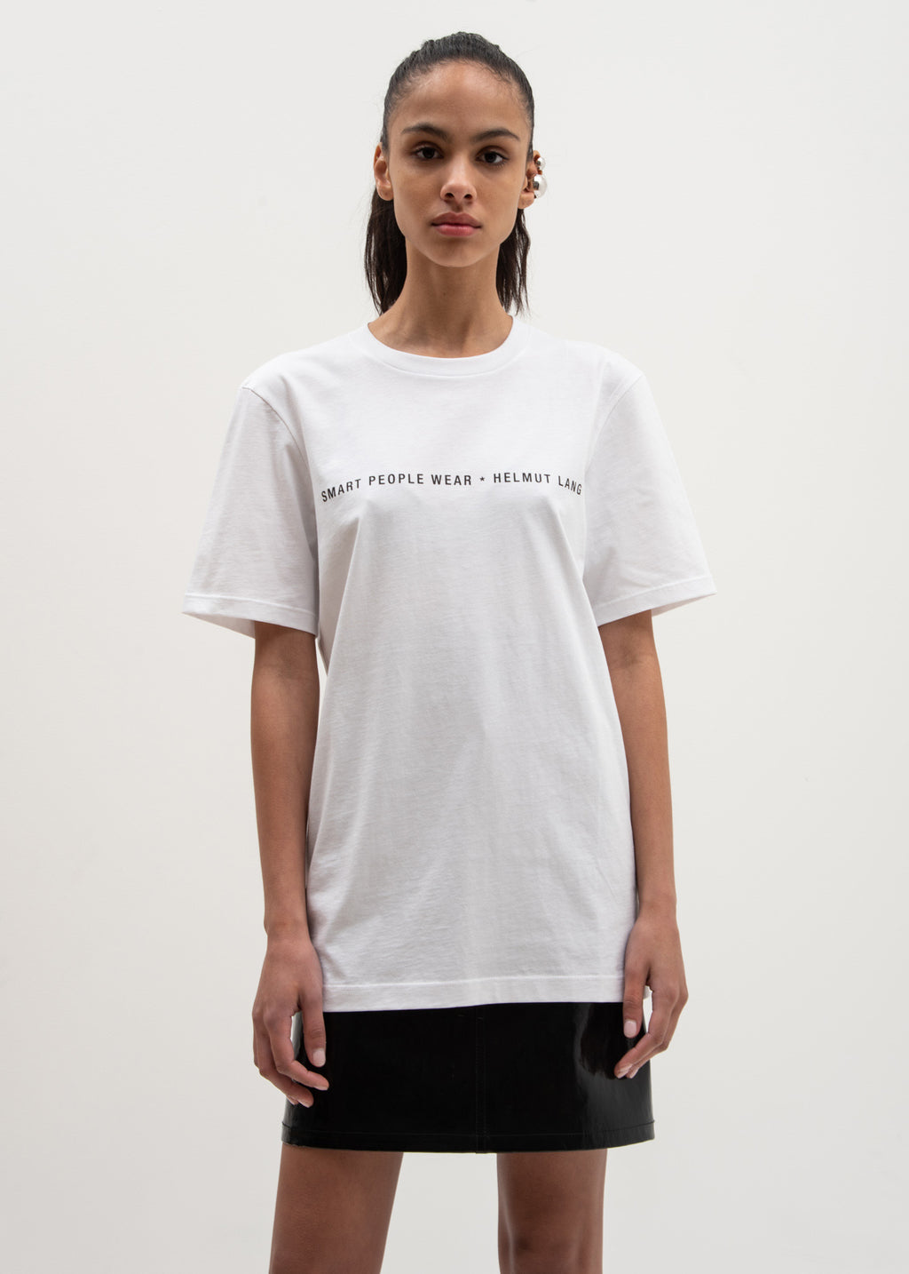 Smart People T-Shirt White