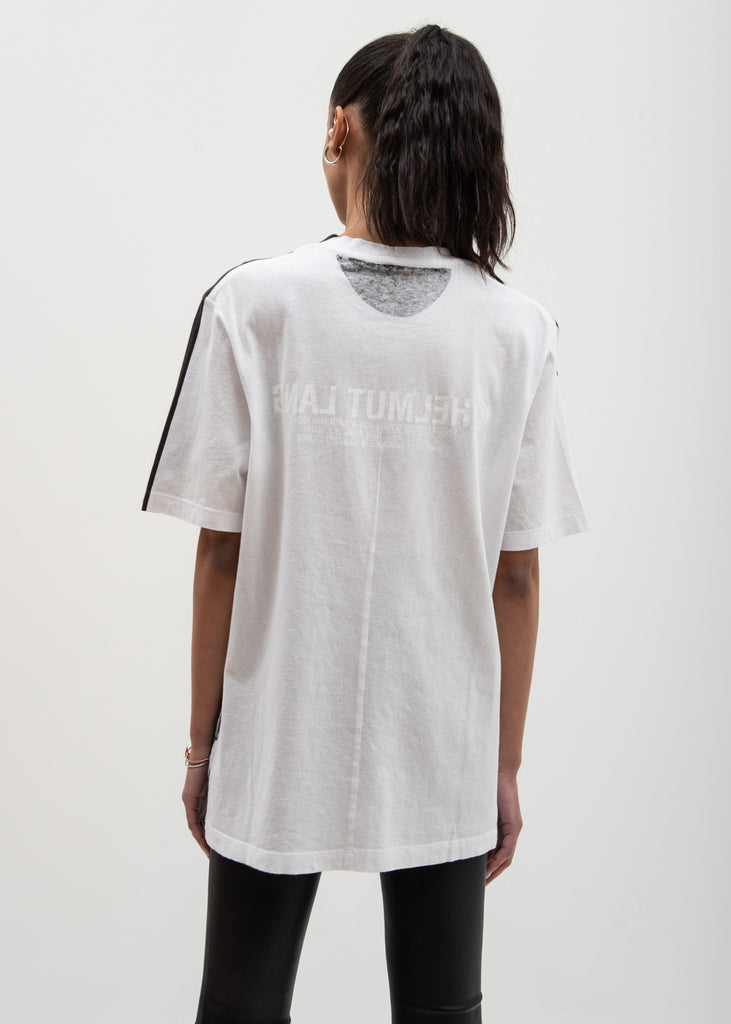 White Black Square T-Shirt