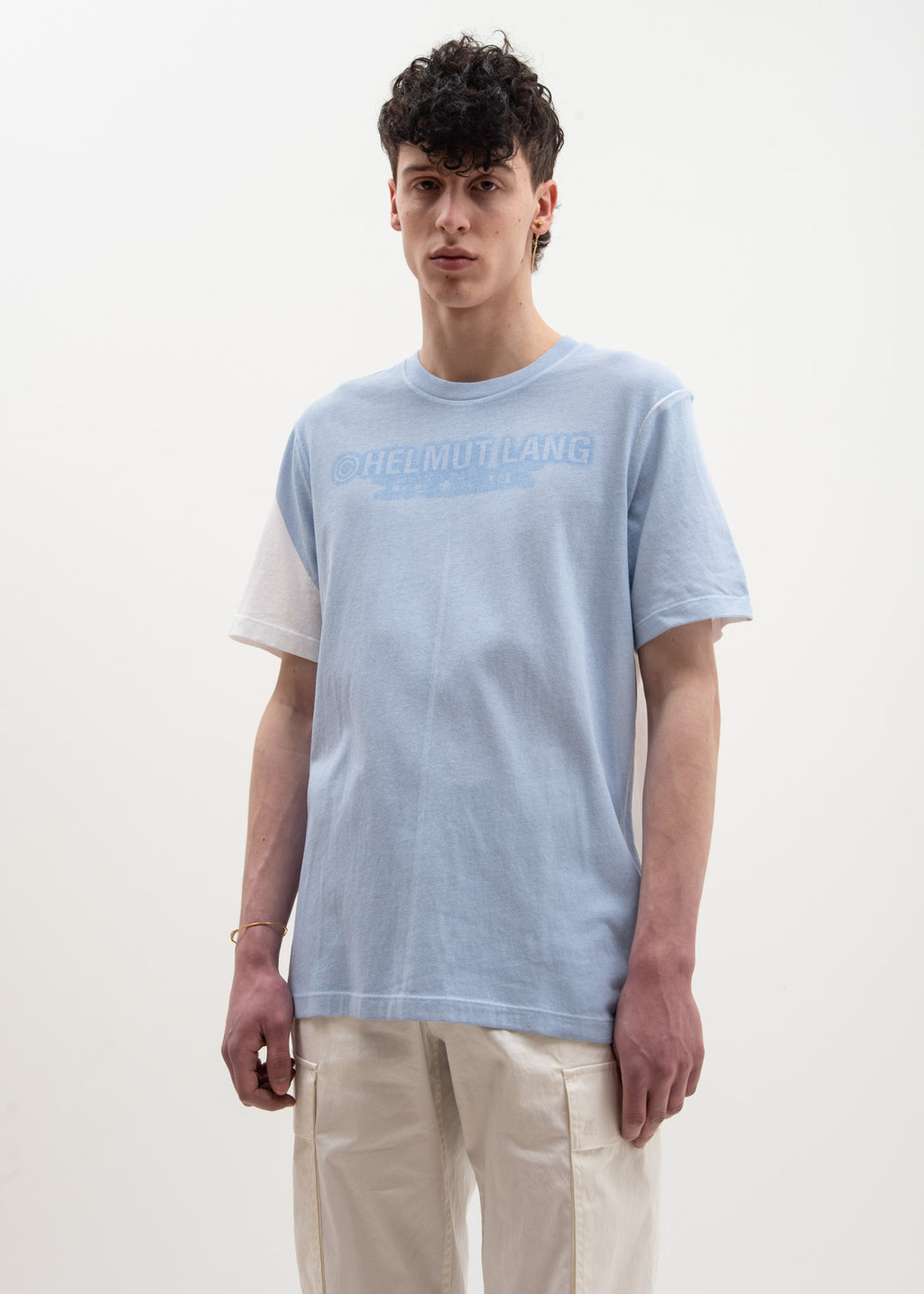 Helmut Lang, White Sky Square T-Shirt, 017 Shop