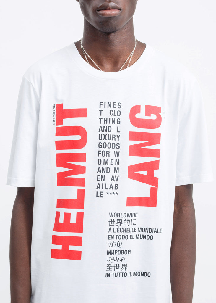 White Worldwide T-Shirt