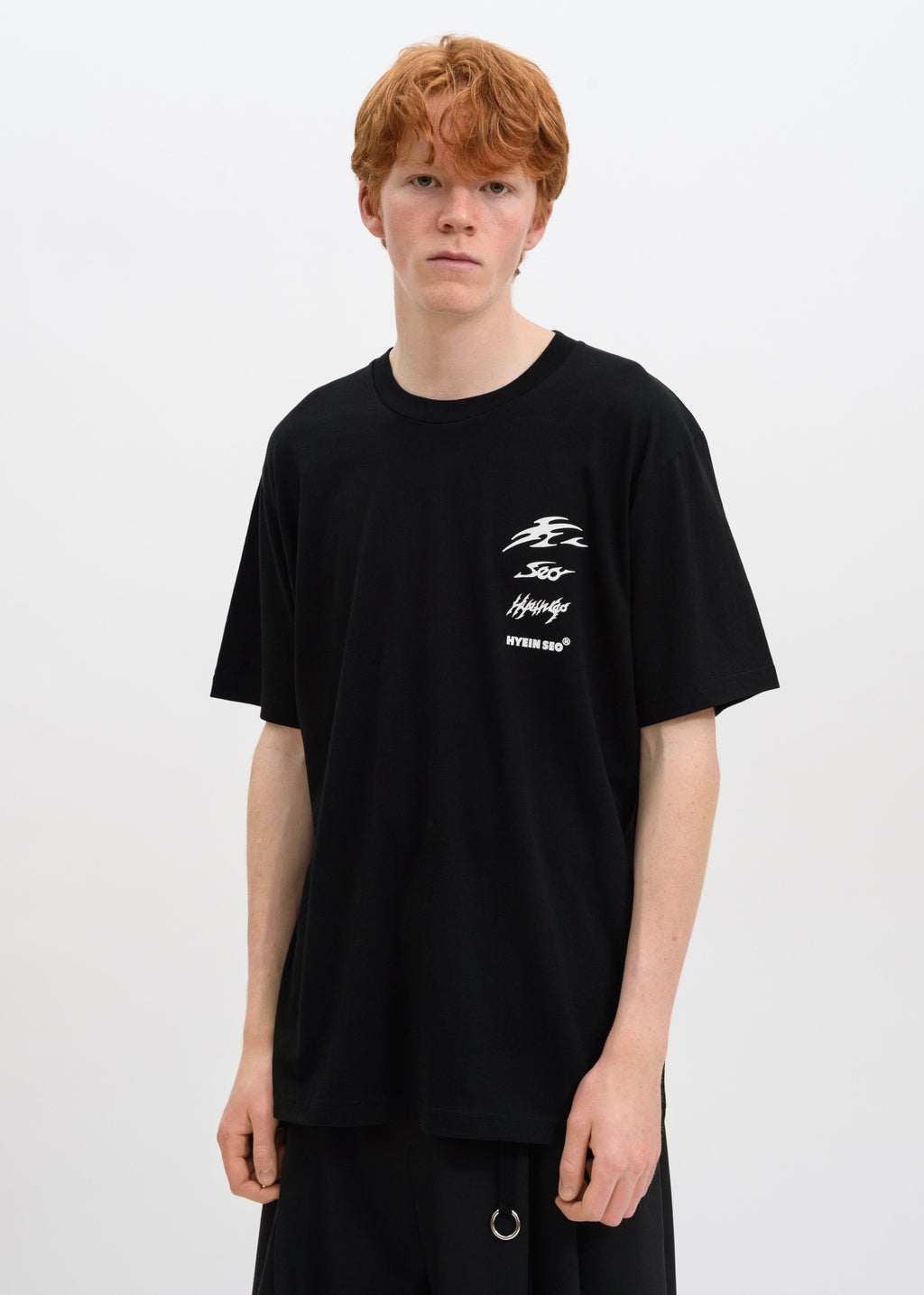 Black Reflective Logo T-Shirt