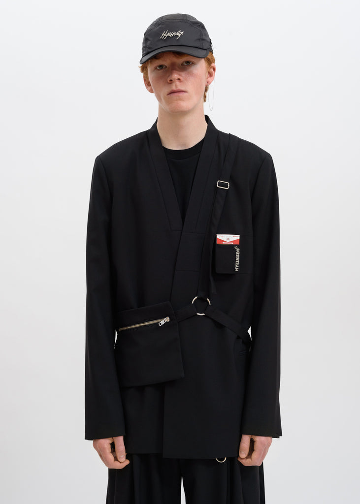 Black Smoker's Jacket