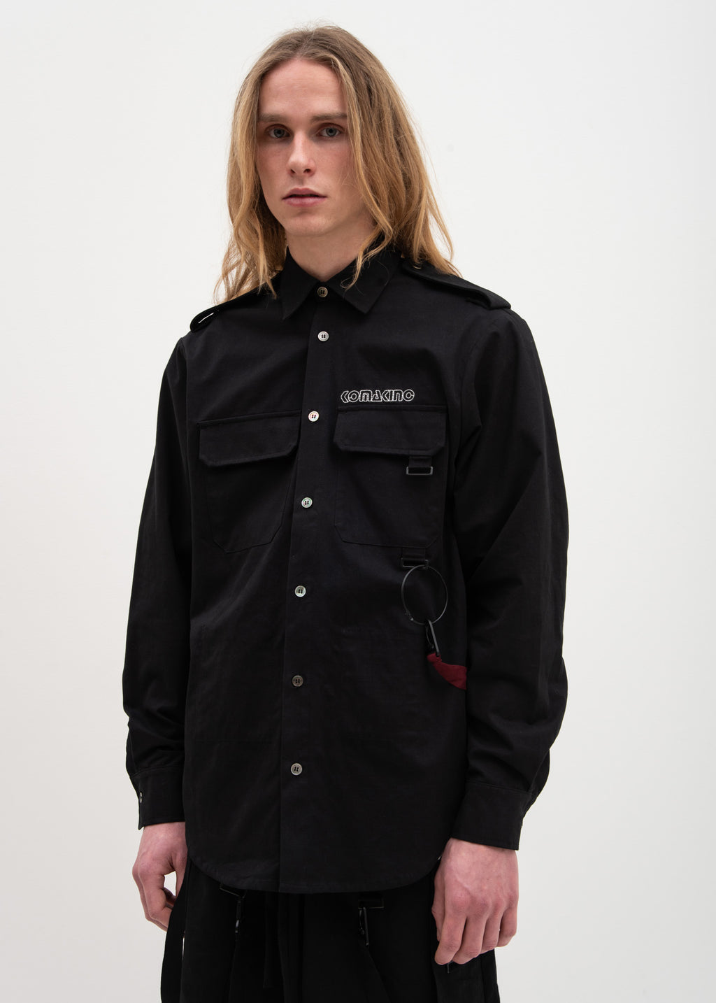 Black Field Shirt Jacket