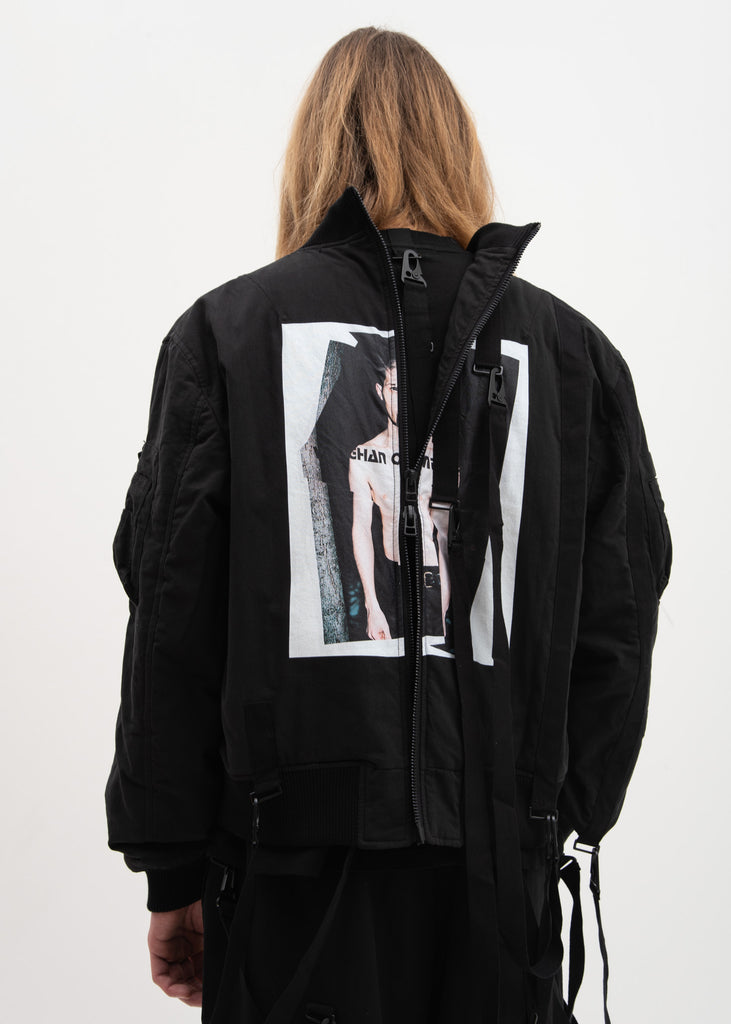 Black MA-1 Bomber Jacket