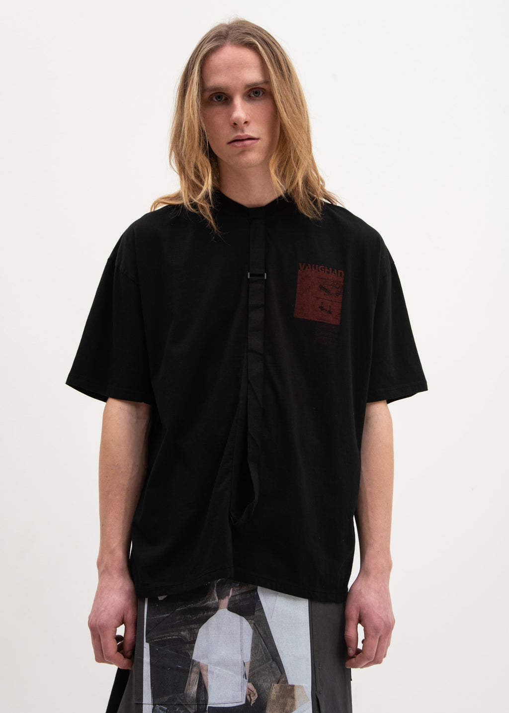 Black Relaxed Fit T-Shirt Vaughan