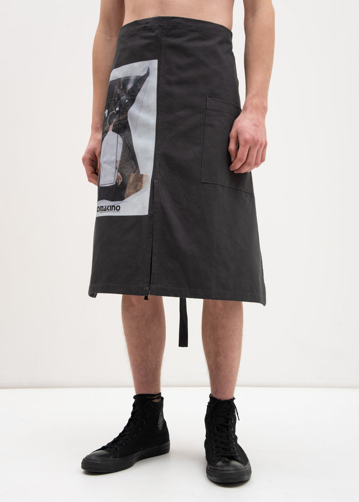 Grey Car Crash Apron
