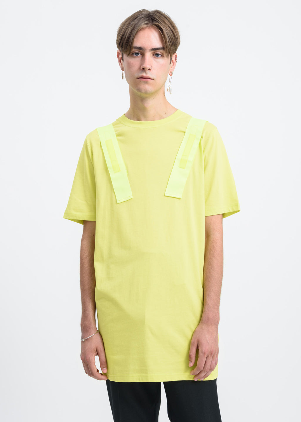 Matthew Miller, Neon Yellow Xander T-Shirt, 017 Shop