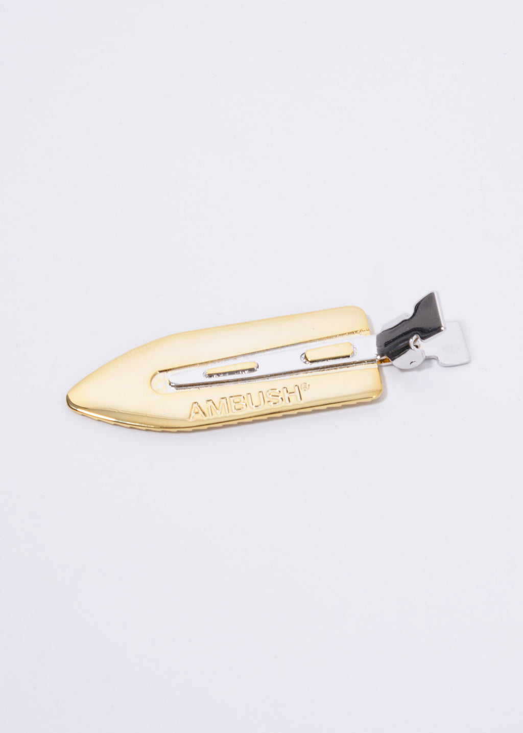 Gold And Sliver Blade Hair Clip
