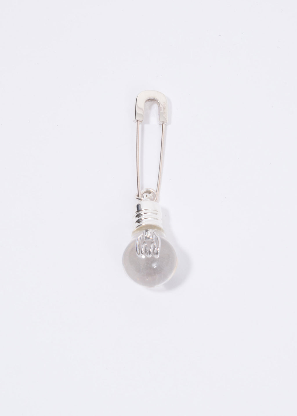 Ambush, Silver Light Bulb Single Earring, 017 Shop