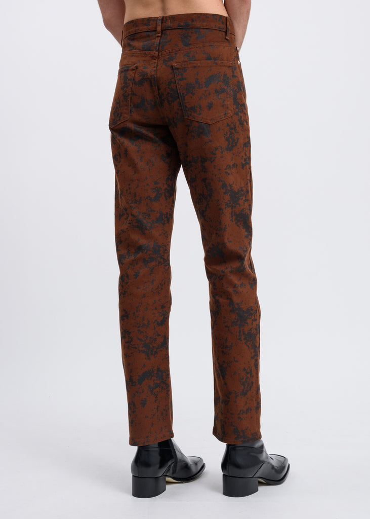 Brown Vintage Connor Trousers