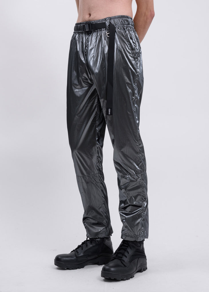 Metallic Buckle Track Pants
