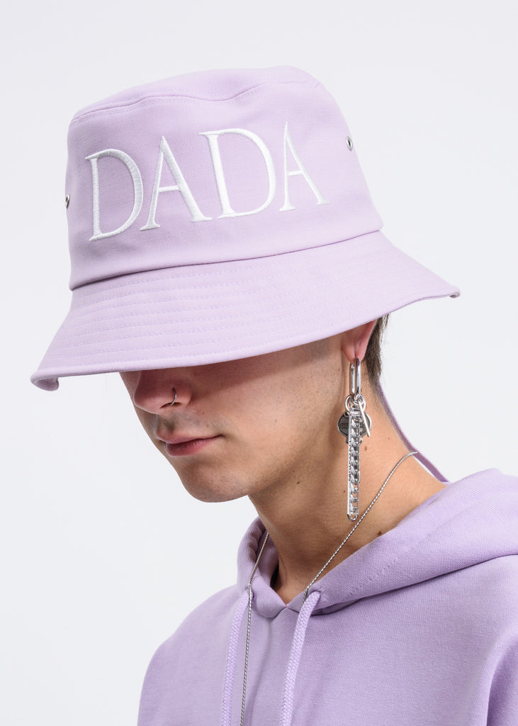 Lavender DADA Embroidery Bucket Hat