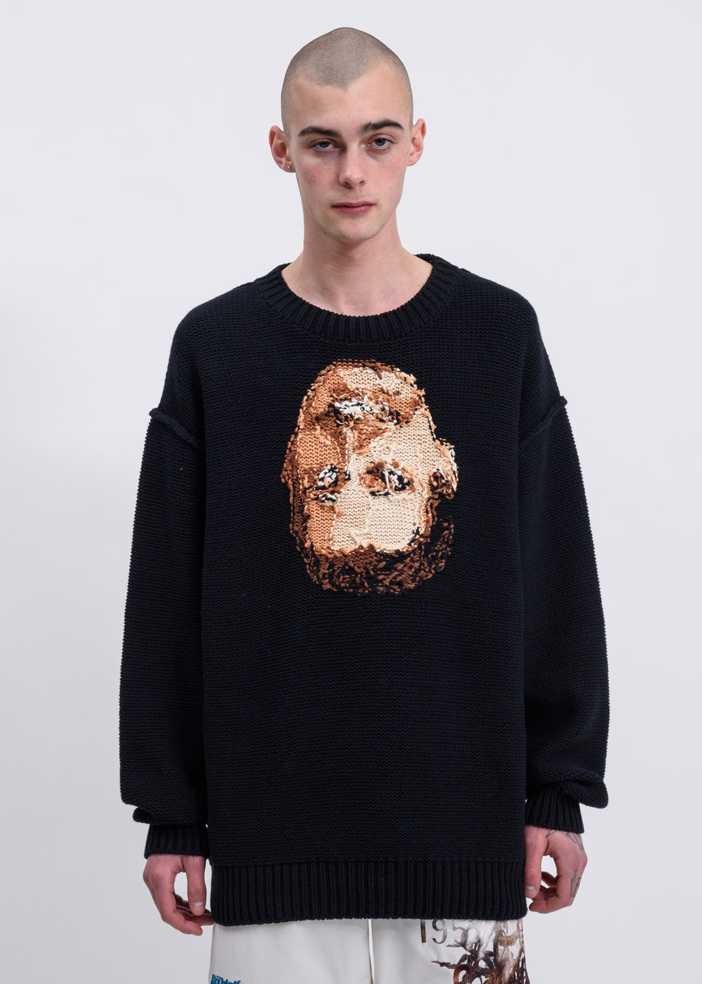Doublet, Black Acting Someone Knitwear, 017 Shop